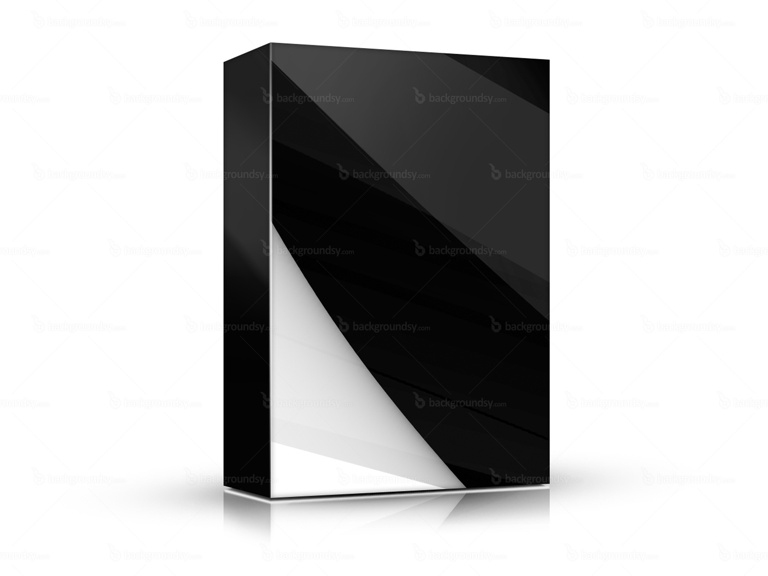 black white box