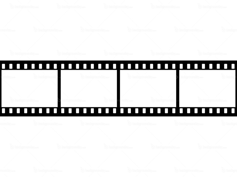 Blank film frames | Backgroundsy.com