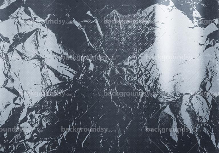 Grunge metal foil