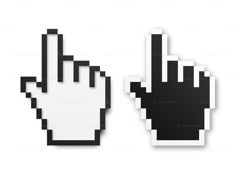 hand cursor symbol