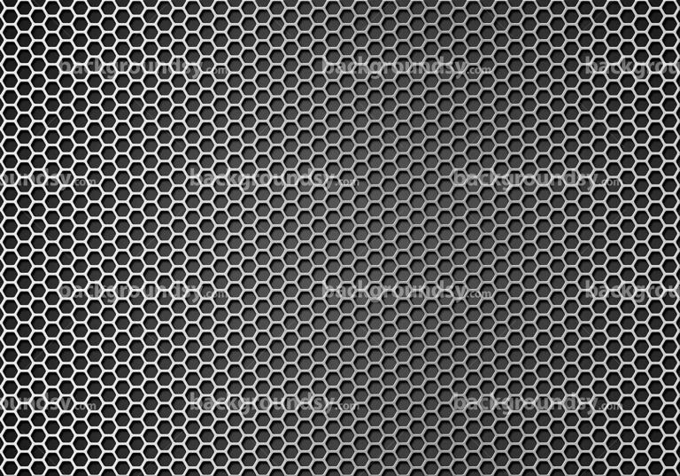 Hexagon metal grid