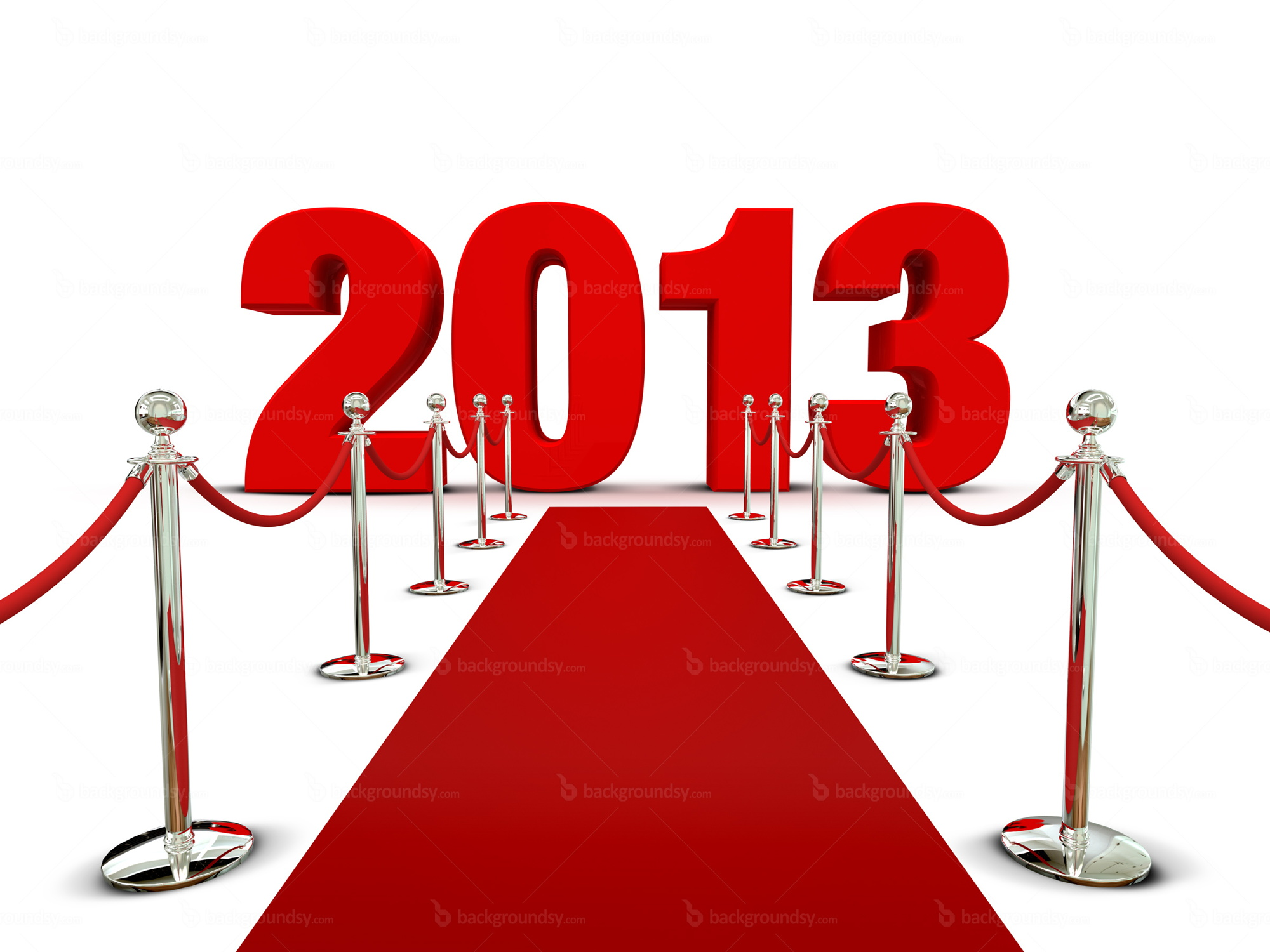 new year 2013 red carpet