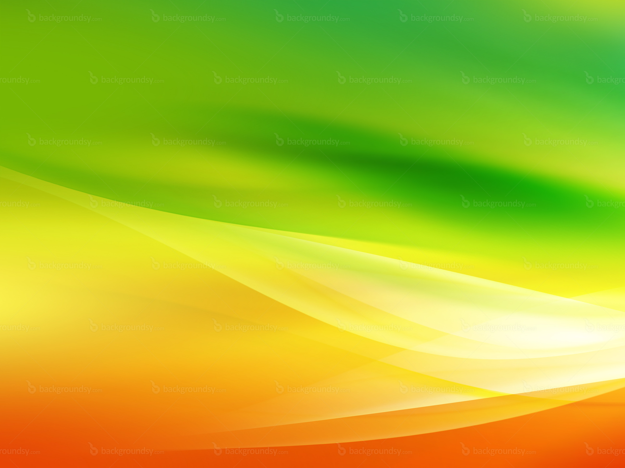 Yellow And Green Wallpapers: Abstract Autumn Background