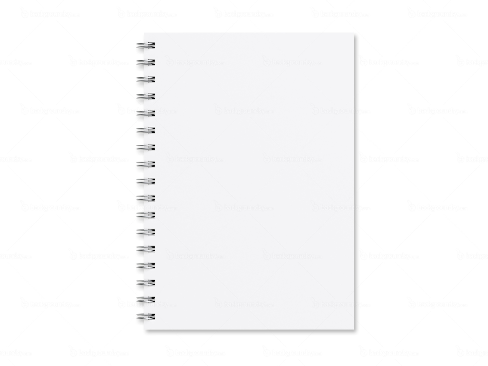 blank notebook template | backgroundsy