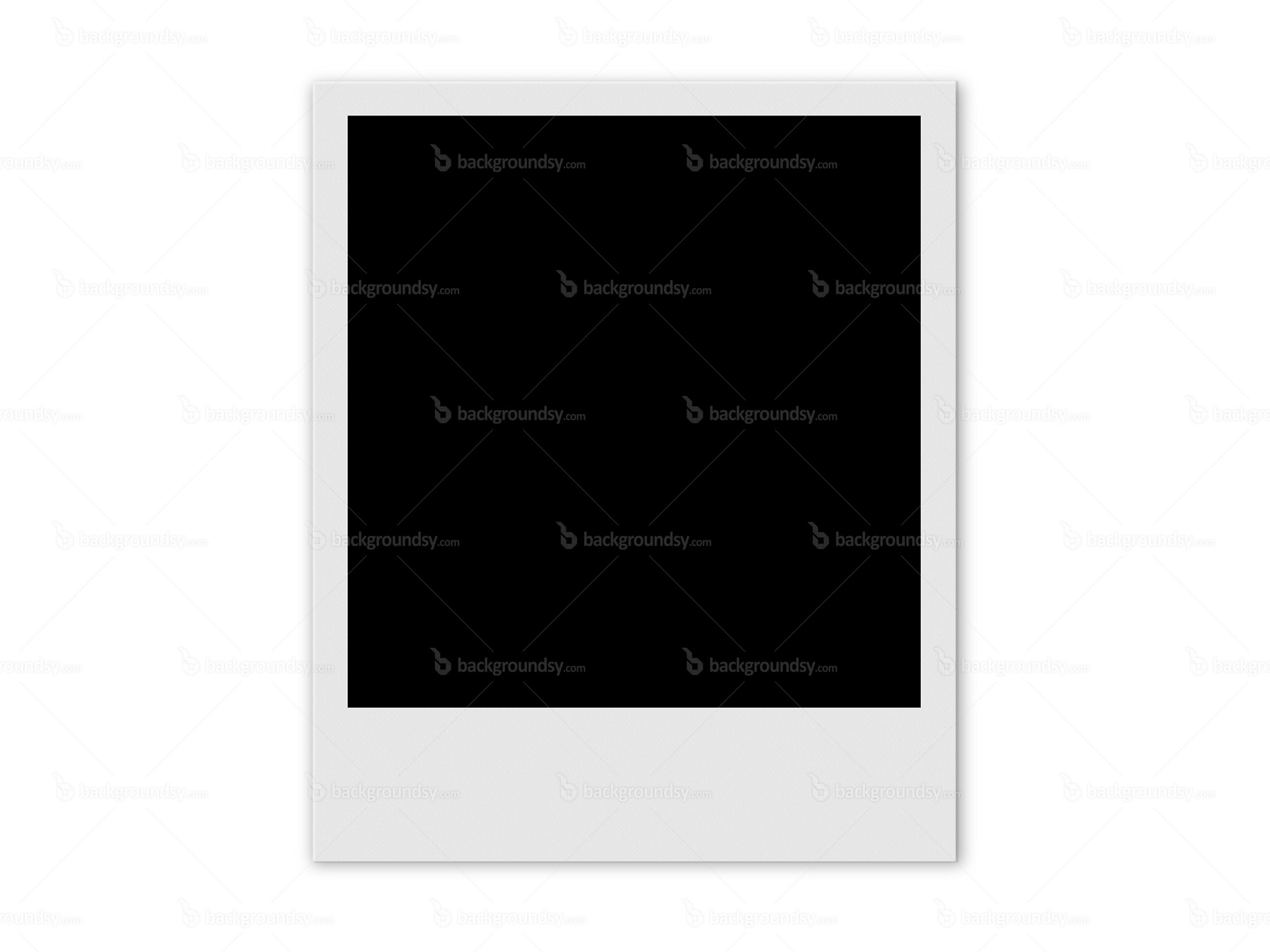 Polaroid frame | Backgroundsy.com