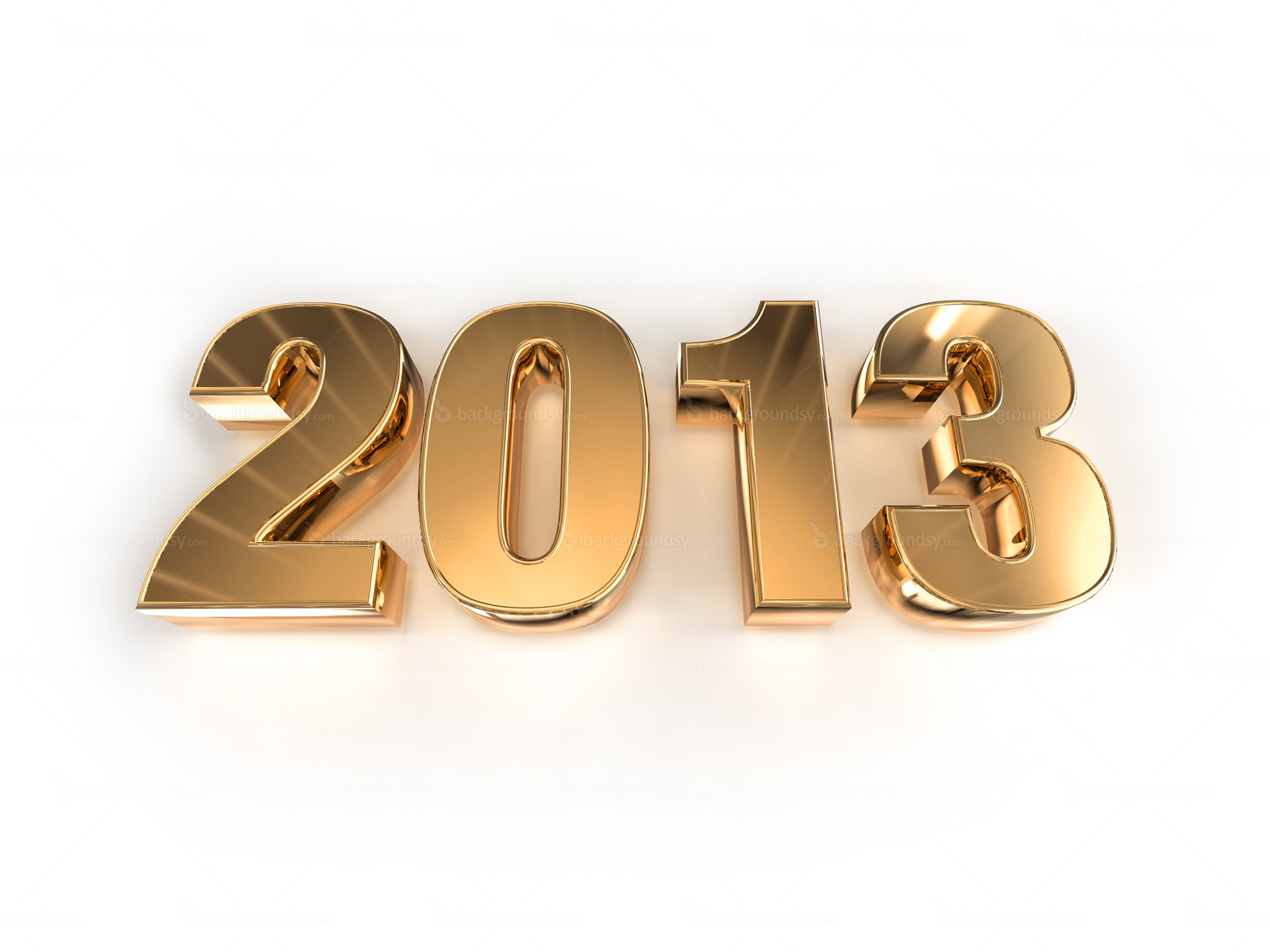 Golden New Year 2013 Backgroundsy Com