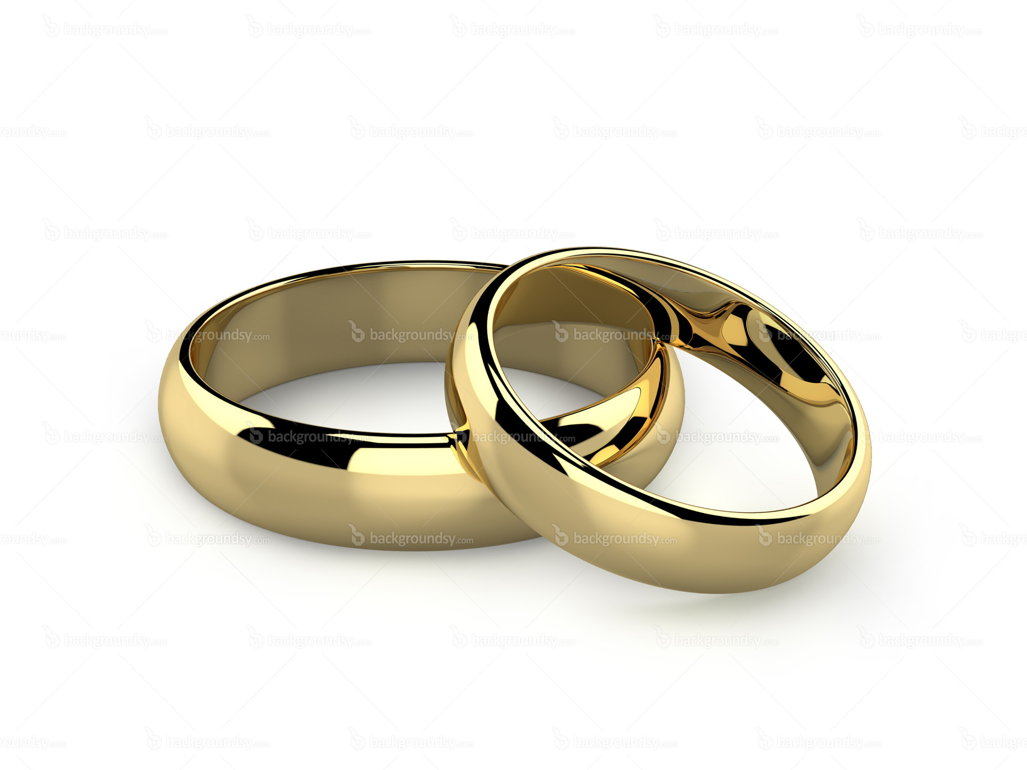 of realistic white traditional on rings pair vector wedding illustration image style golden background stock isolated sketch