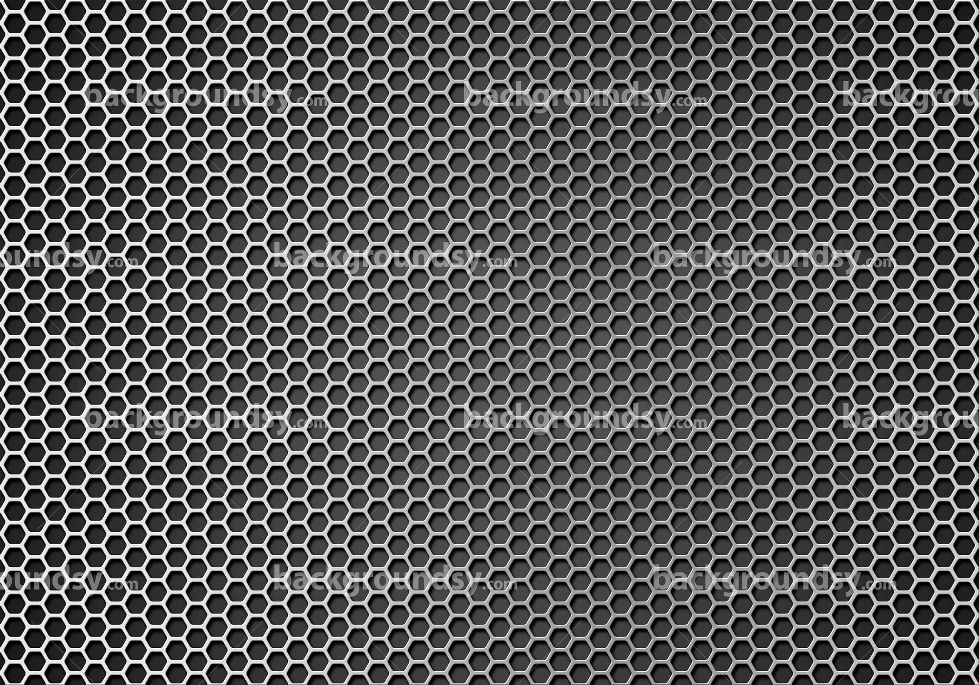 Hexagon Metal Grid Backgroundsy Com