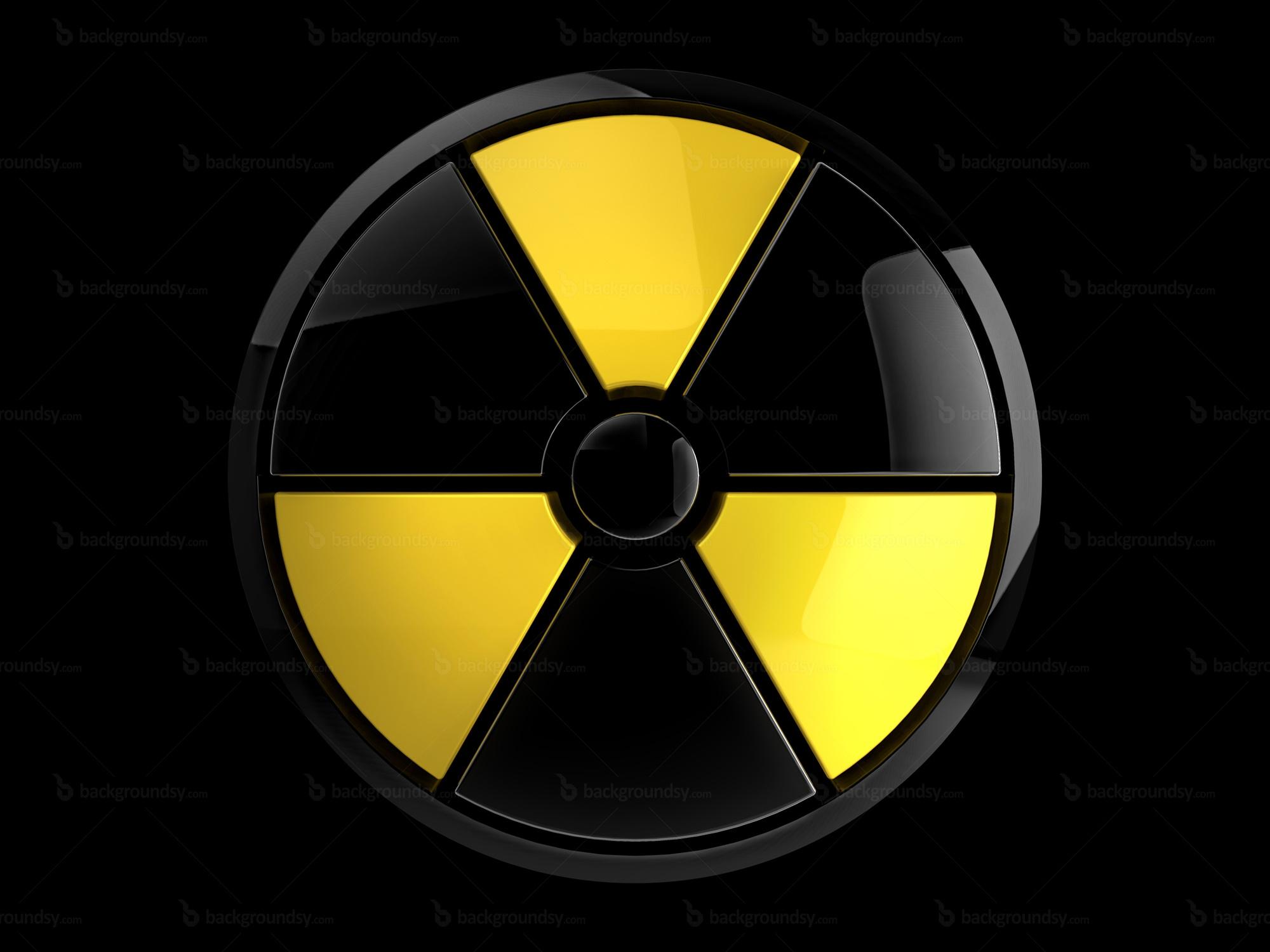 Radiation Warning Signs Symbols