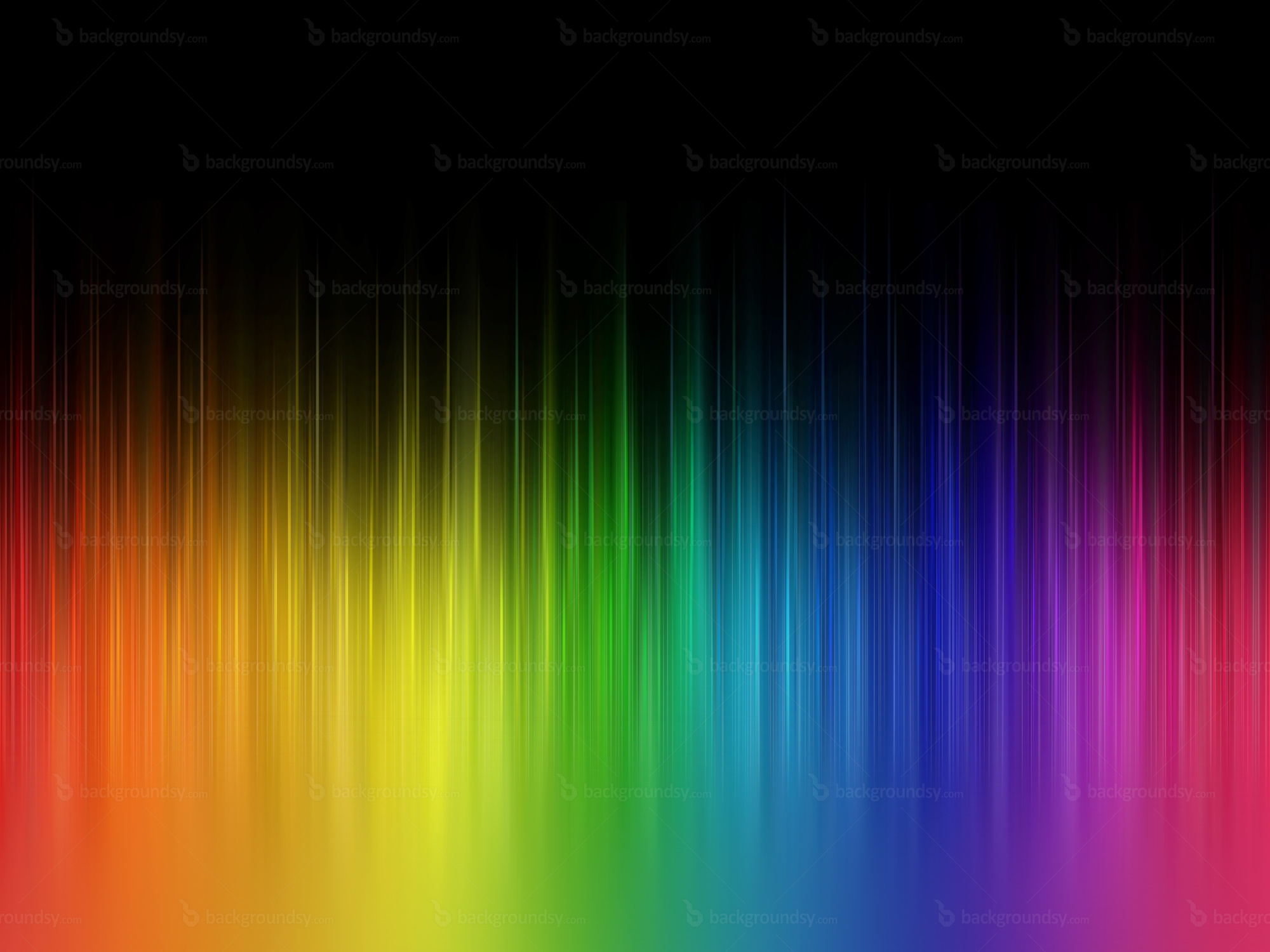 Rainbow stripes background