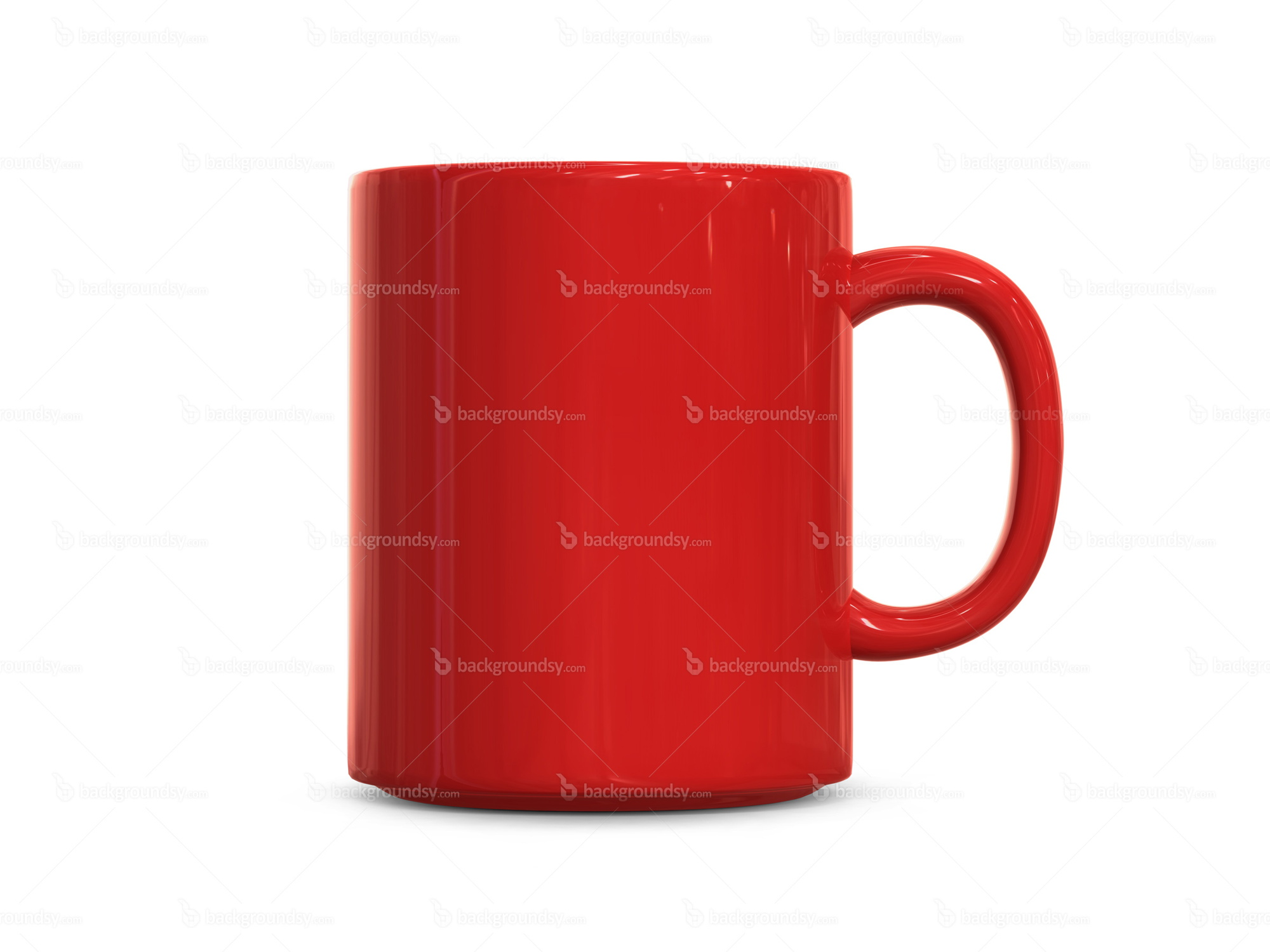 The Mug Coffee >> Red cup | Backgroundsy.com