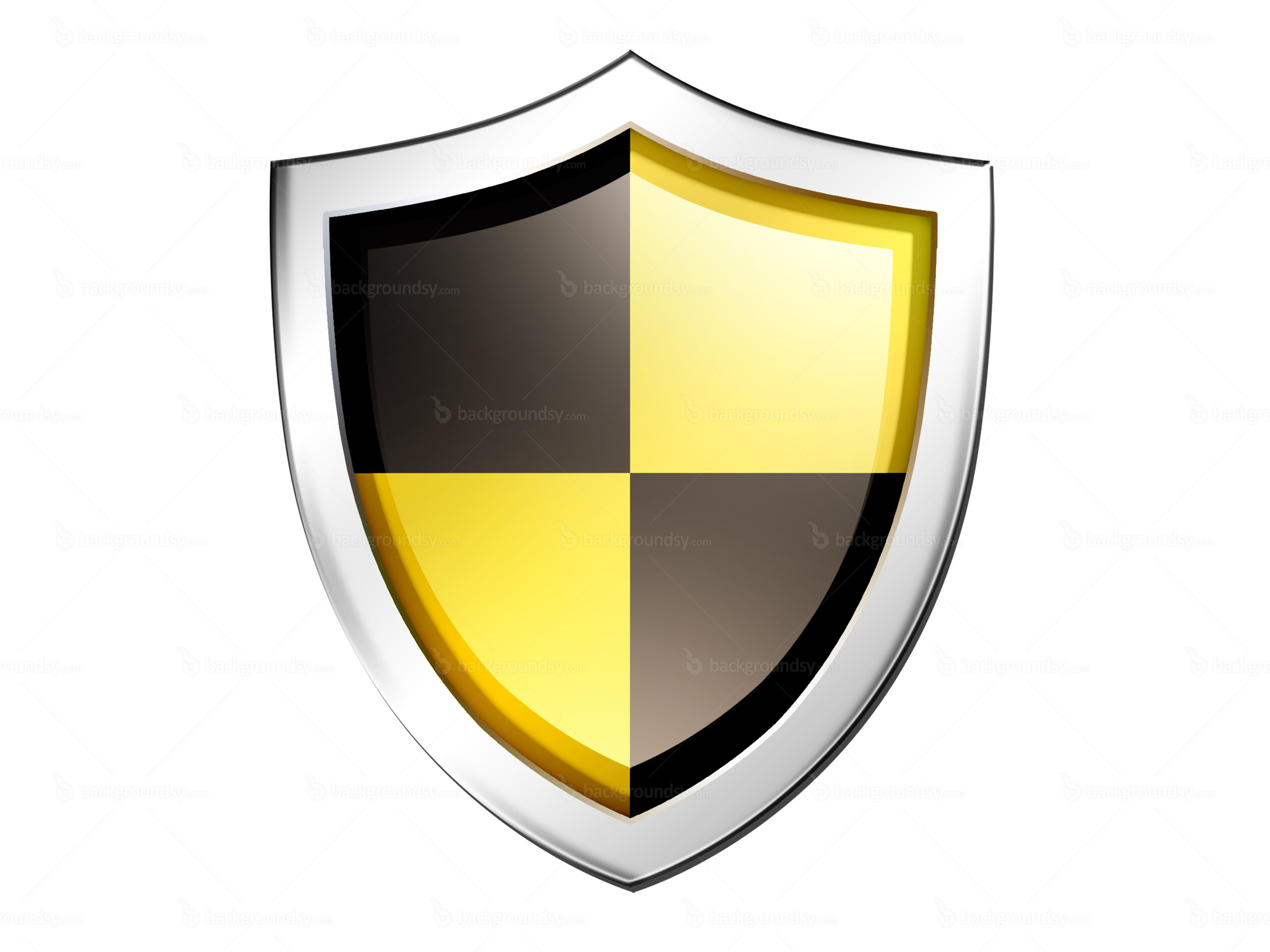 Image Gallery shield psd