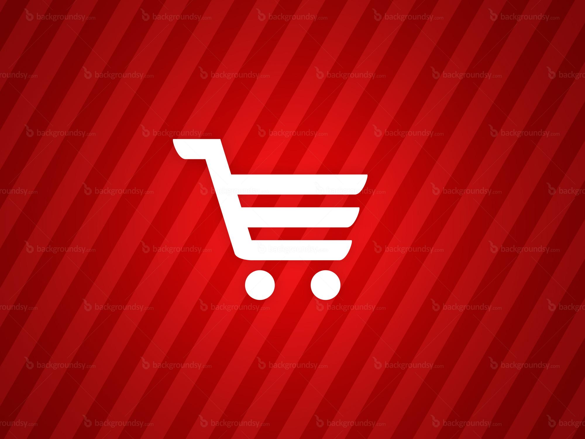 shopping cart background