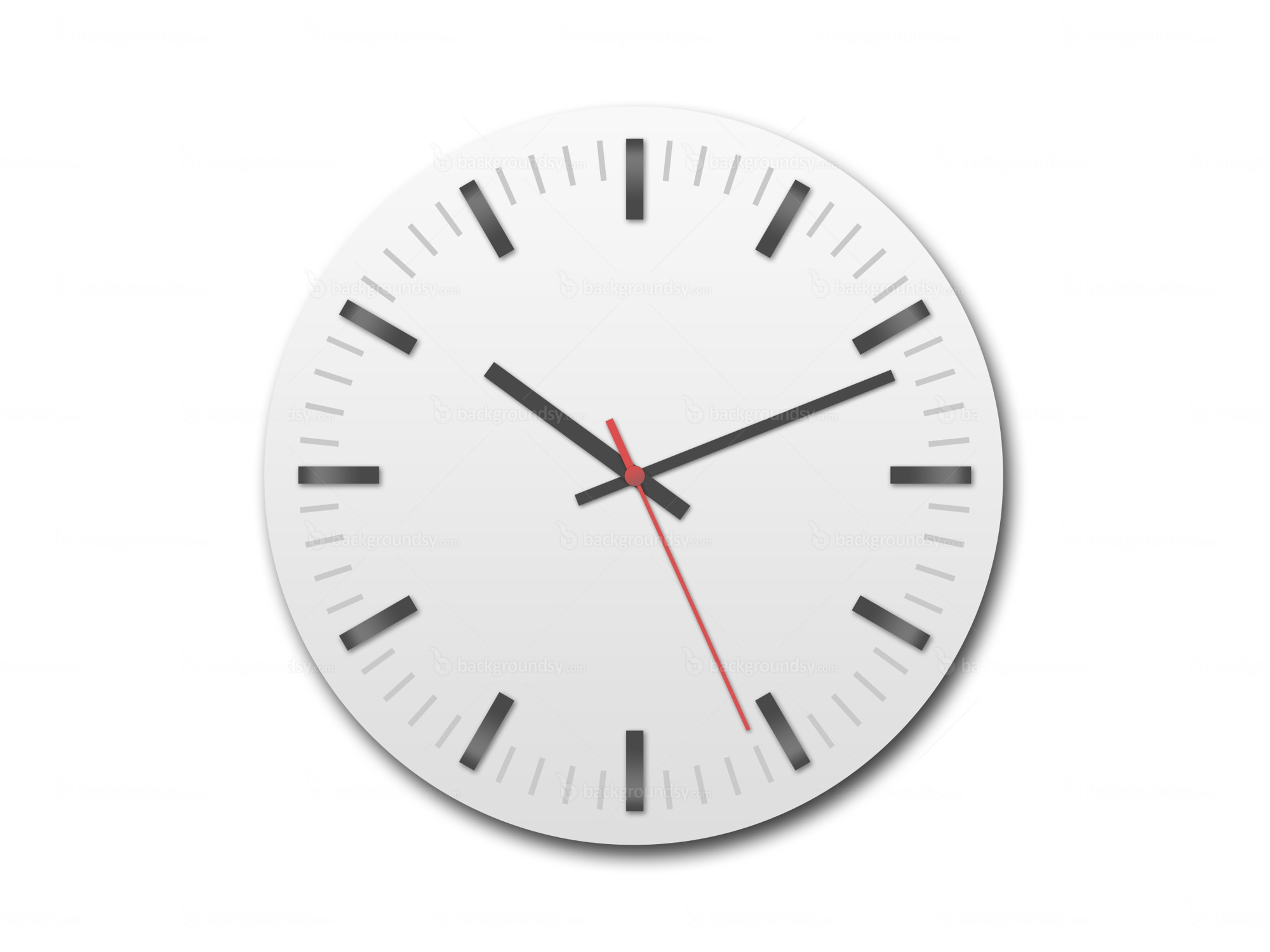 Simple clock (PSD)