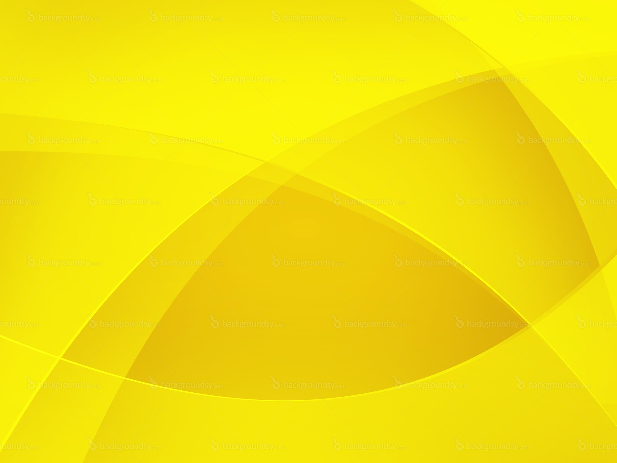 Yellow background design