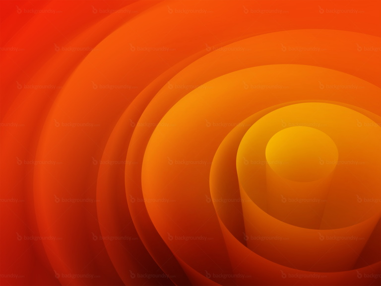 orange swirl