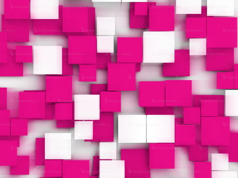 pink squares background