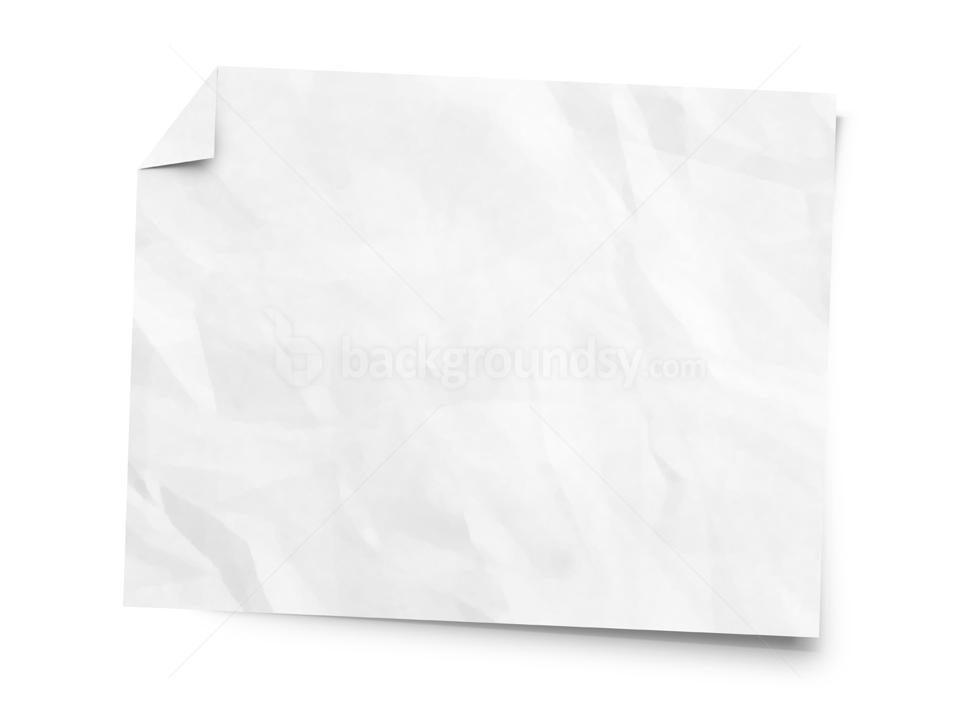 Crumpled White Paper | www.pixshark.com - Images Galleries ...