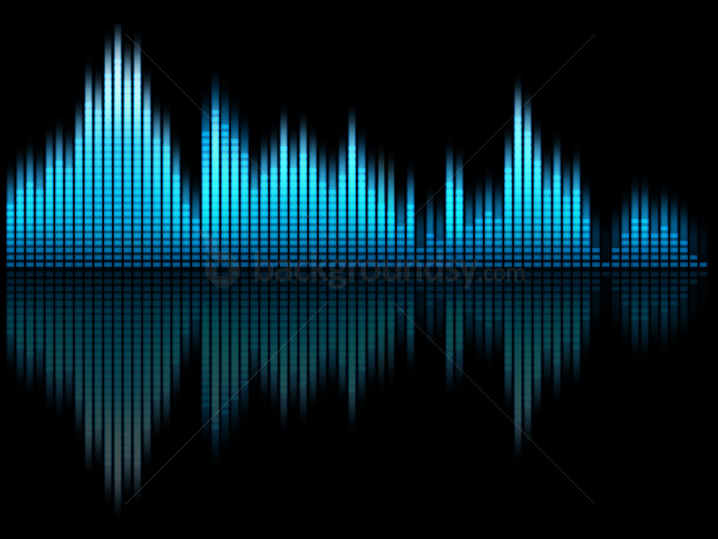 Blue Or Green Music Equalizer Background Backgroundsy Com