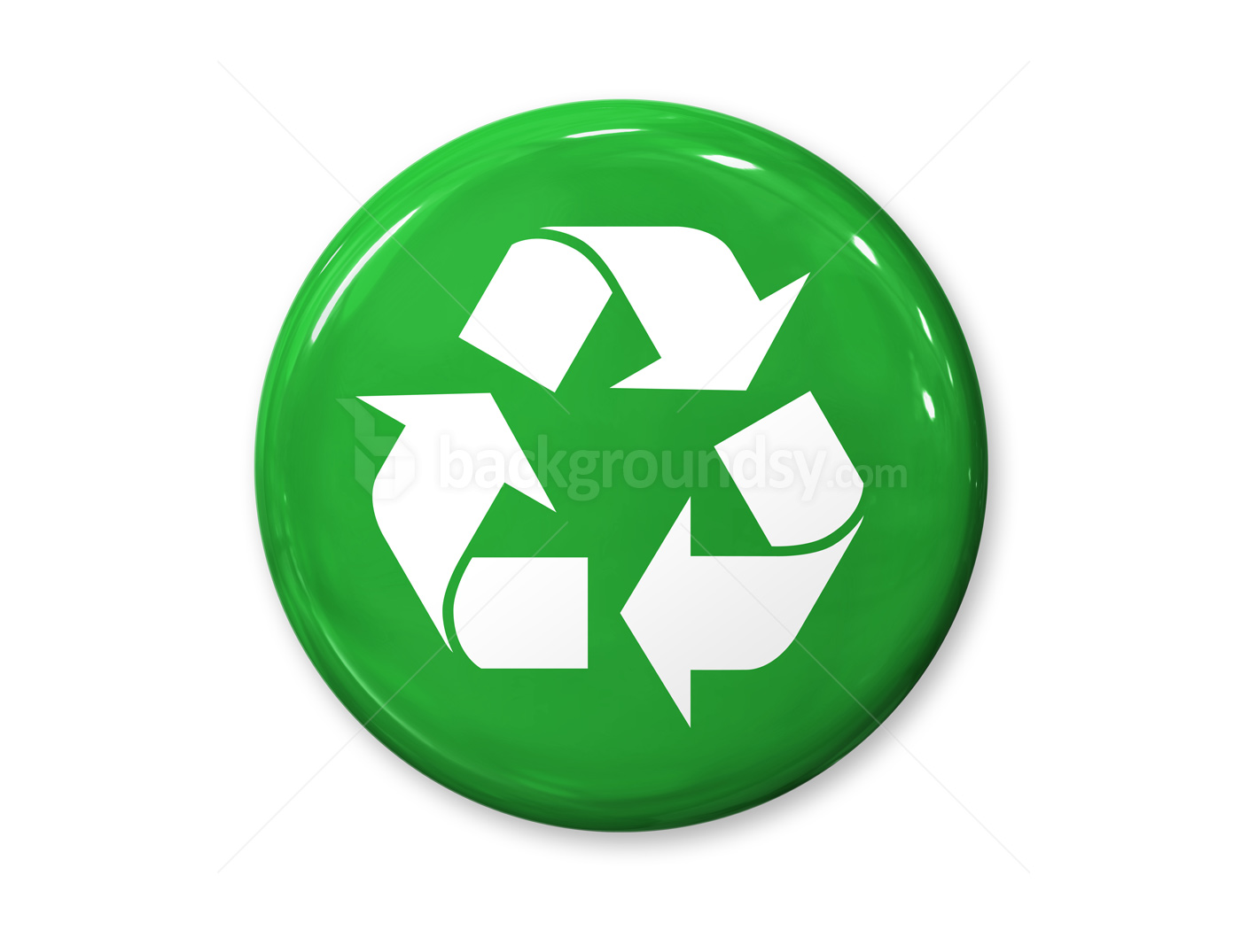 Recycling badge | Back...