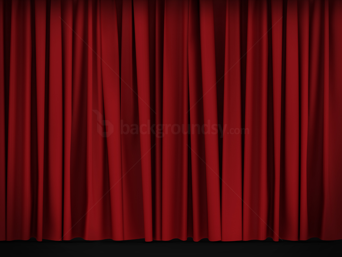 Nice Red Curtain Background