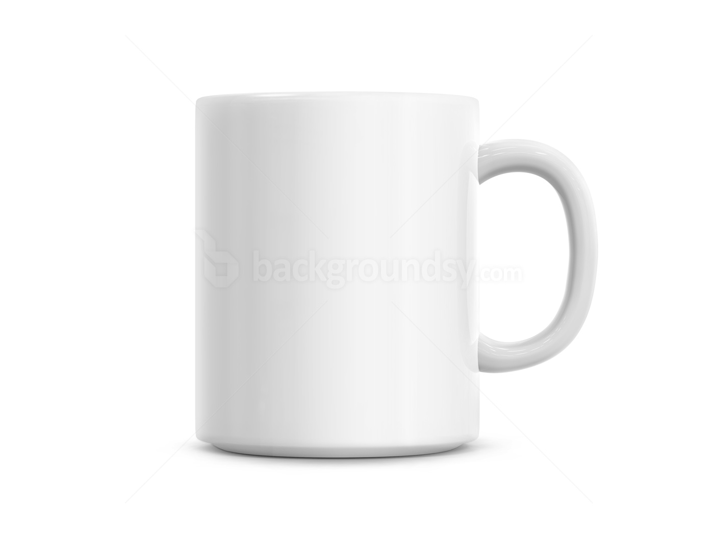 White cup | Background...