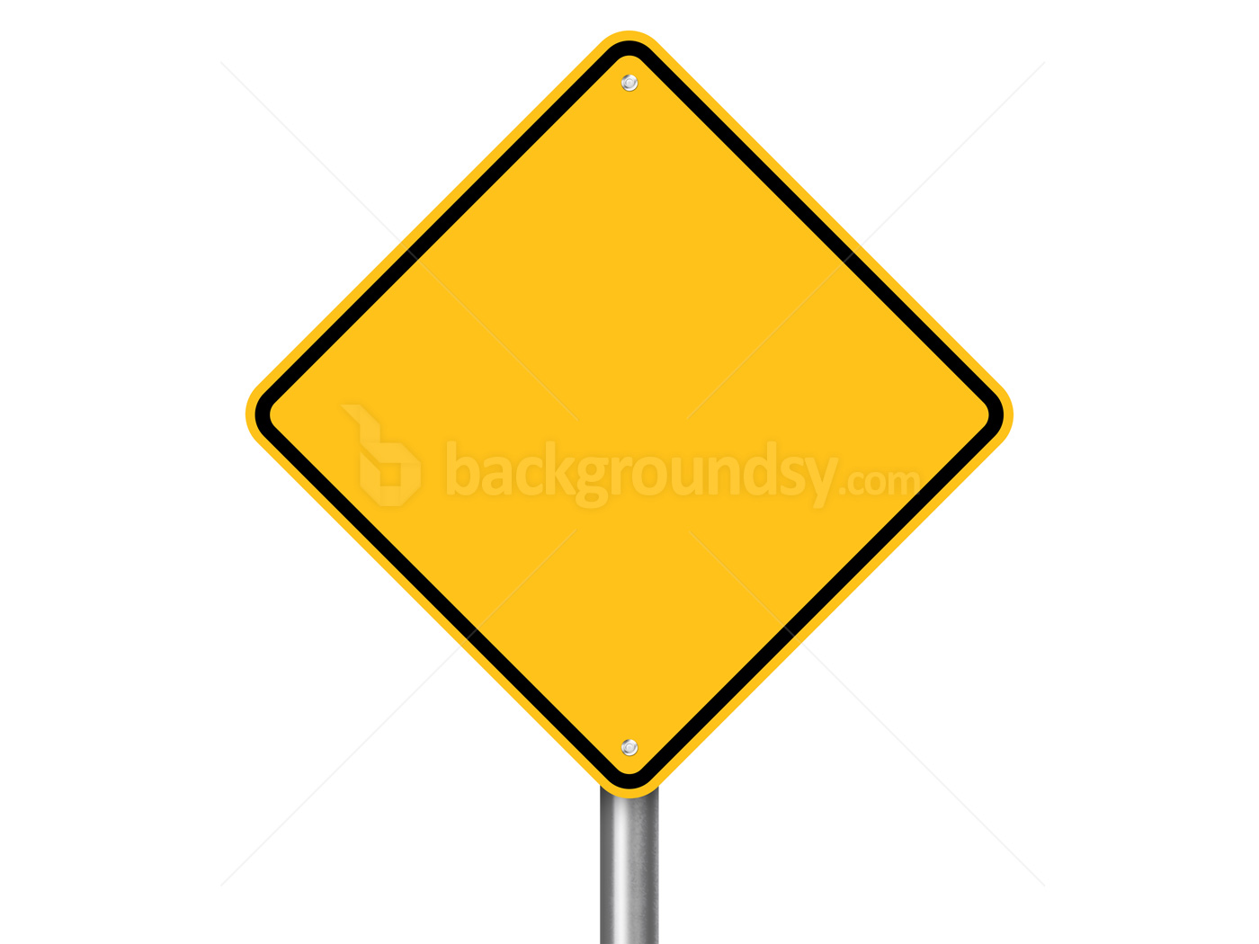 Yellow Street Sign Backgroundsycom - Street sign template