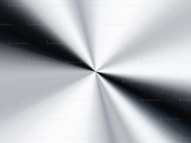 radial metal background