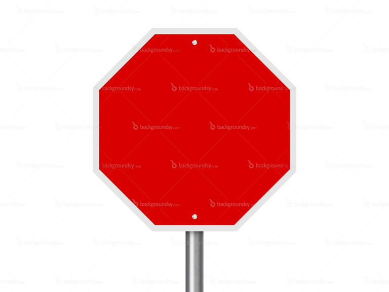 red street sign