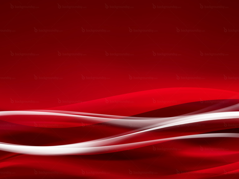 red waves background